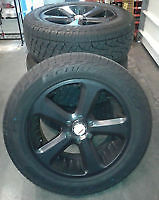 Used 20 American Racing Vn870 Wheels Rims W Pirelli Scorpion Atr Tire