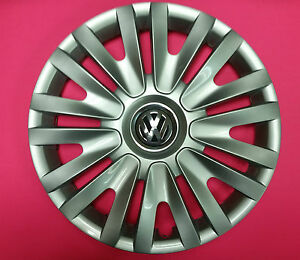 Genuine Vw Oem Wheel Cap Hub Cap Golf 2010 2013 15 15 5k0601147f Vzn