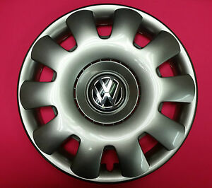 Genuine Vw Oem Wheel Cap Hub Cap Jetta Golf 15 15 1j0601147p Gjw 1j0601147pgjw