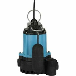 Little Giant 10ec cia sfs 1 2 Hp Cast Iron Submersible Sump Pump W Vertica