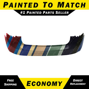 New Painted To Match Rear Bumper Cover For 2012 2013 2014 Ford Focus Hatchback