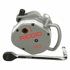 Roll Groover model 915 2 6 In Ridgid 88232