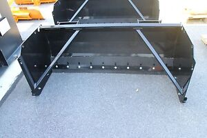 60 Quick Attach Land Pride Snow Pusher For Compact Size Tractors