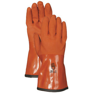 Snow Blower Insulated Pvc Gloves By Bellingham Glove