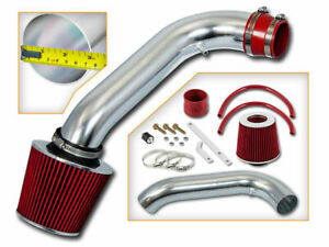 Ram Air Intake Red Dry Filter For 94 01 Acura Integra Gsr Type R 1 8l