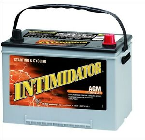Deka Genuine New 9a34r Intimidator Agm Battery 890amp Cranking Power group 34r