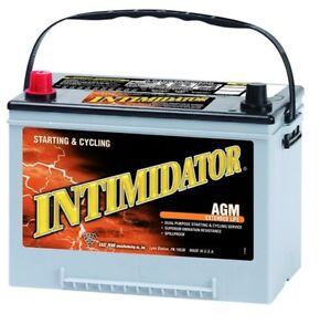 Deka Genuine New 9a34 Intimidator Agm Battery 890amp Cranking Power group 34