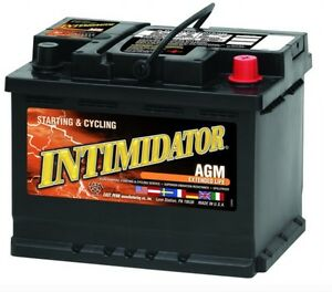 Deka Genuine New 9a47 Intimidator Agm Battery 690amp Cranking Power group 47