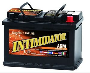 Deka Genuine New 9a48 Intimidator Agm Battery 875amp Cranking Power group 48