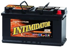 Deka Genuine New 9a49 Intimidator Agm Battery 975amp Cranking Power group 49