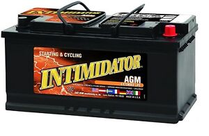 Deka Genuine New 9a95r Intimidator Agm Battery 1050amp Crankingpower group 95r