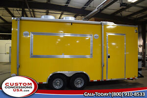 New 8 5 X 20 Concession Trailer food Vending financing Call 888 418 8855
