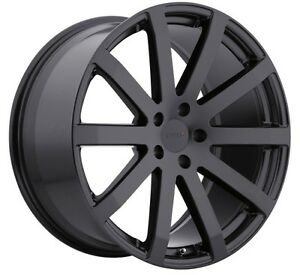 19x95 Tsw Brooklands 5x114 3 40 Matte Black Rims Fits Honda Accord 2008 2012