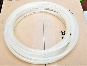 20 Feet 5mm 3 16 Pu Flexible Air Tubing Pneumatic Pipe Tube Hose Clear