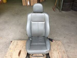 05 Chrysler 300 Front Passenger Side Seat Gray Leather 2311