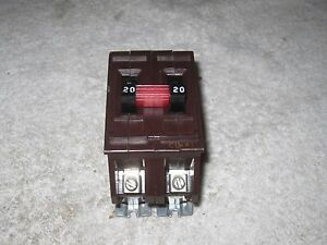Wadsworth A220 2p 20a 240v Breaker Metal Tabs