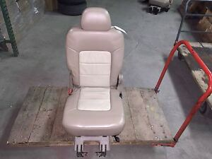 05 Ford Expedition Eddie Bauer Left 2nd Row Seat Tan 2301