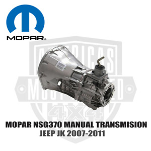 Mopar Jeep Jk 3 8l Nsg370 Six Speed Manual Transmission 2007 2011