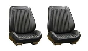 1968 Oldsmobile Cutlass Supreme Bucket Front Seat Cover Pair