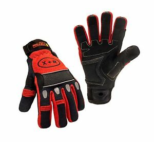 Techtrade Protech 8 X r Firefighter Extrication Rescue Gloves Multiple Colors