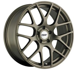 17x8 Tsw Nurburgring 5x112 Rims 35 Matte Bronze Wheels Set Of 4
