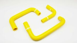 Silicone Engine Breather Hose Fit Nissan Skyline Gtr Rb26 R32 R33 R34 Gtr Yellow