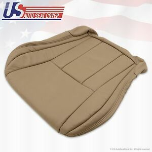 Driver Bottom Leather Cover Oak Tan Fits1996 1997 1998 2000 2001 Toyota 4runner