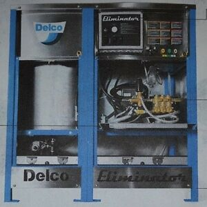 Delco Eliminator Natural Gas Or Lp Hot Water Cabinet Style Pressure Washer