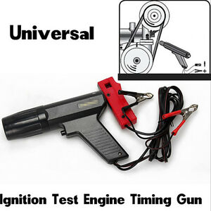 Black Car Inductive Timing Light Gun Tester Engine Ignition Tester Xenon Lamp
