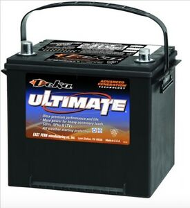 Deka Genuine New 725mf 12 volt Battery 770amp Cranking Power group 25