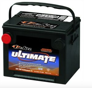 Deka Genuine New 775mf 12 volt Battery 850amp Cranking Power group 75