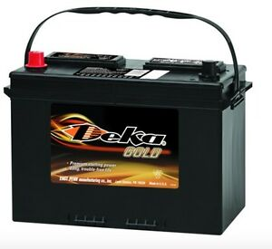 Deka Genuine New 627mf 12 volt Gold Battery 875amp Cranking Power group 27
