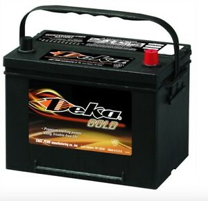 Deka Genuine New 634rmf 12 volt Gold Battery 850amp Cranking Power group 34r