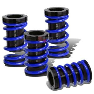 Lowering Suspension Adjustable Coilover Blue Springs For 92 96 Mazda Mx3