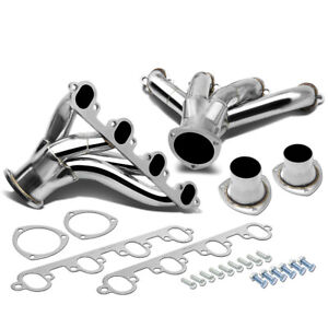 For 73 87 Ford Fe Big Block Cnc Stainless Steel Hugger Header Exhaust Manifold