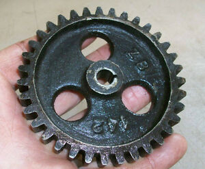 3hp Fairbanks Morse Z Magneto Gear Zb142 For Sumter Mag Old Gas Engine Fm