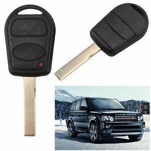 Remote Fob 3 Button Key Shell For Land Rover Range Hover L322 Hse Vogue