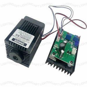 Focusable High Power 450nm 2000mw 2w Blue Laser Module Ttl Carving burning