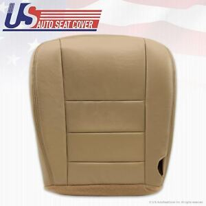 2002 2003 2004 Ford Excursion Limited Driver Bottom Leather Seat Cover Tan