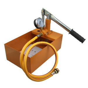Stainless Steel Manual Pressure Test Pump Apply To Pipe Valves Pressure Test