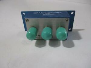 Mini Circuits Attenuator Zas 1br 50 Bi phase 5 To 450 Mhz