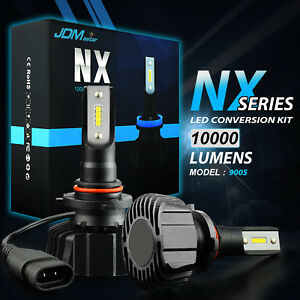 2x High Power 10000lm Extremely Bright 9005 Hb3 Led Headlight Bulbs 6500k White
