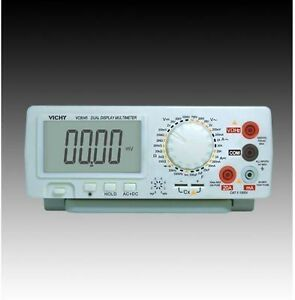 Dmm Vichy Vc8045 4 1 2 Digital Bench Top Multimeter