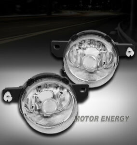 For 93 94 95 Honda Del Sol S Si Bumper Driving Fog Light Chrome Left right Pair