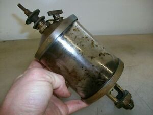 6 Detroit Lubricator Co Gas Engine Cylinder Oiler Hit And Miss