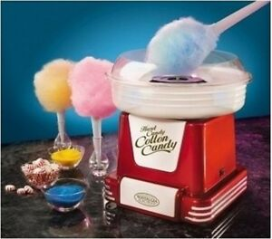 Cotton Candy Maker Electric Kitchen Counter Top Sugar Floss Candy Machine Cones