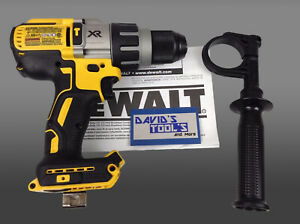 New Dewalt Dcd996b 20v Max Lithium Ion Brushless 3 Speed Hammer Drill