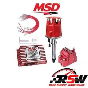Msd Bbc Ignition Kit Digital 6al 2 Distributor Wires Coil Big Block Chevy