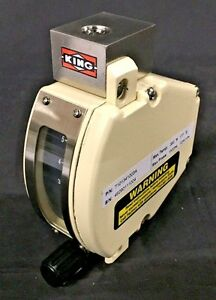 New Flow Meter King Instrument 7100 Series 316 Ss 1 4 Npt 5 5 Scfh Air