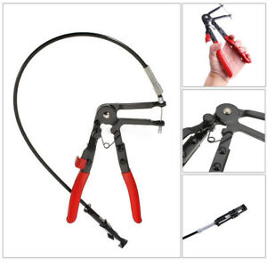 24 Oil Fuel Cable Hose Clamp Pliers Locking Tool For Spring Flat Hose Clamp